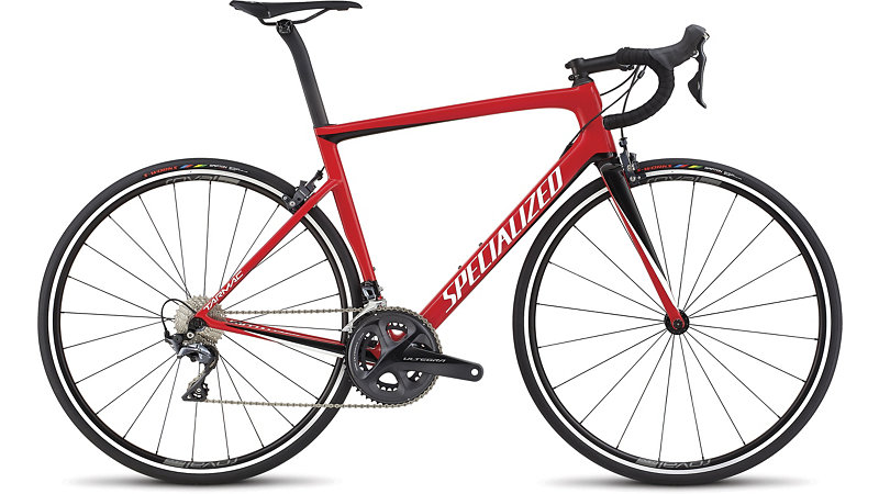 silniční kolo Specialized Tarmac SL6 Expert 2018 red/white/black