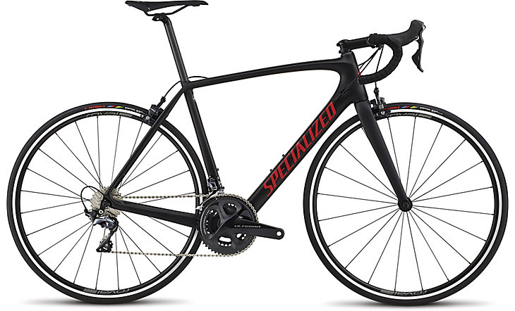 silniční kolo Specialized Tarmac Comp 2018 black/red