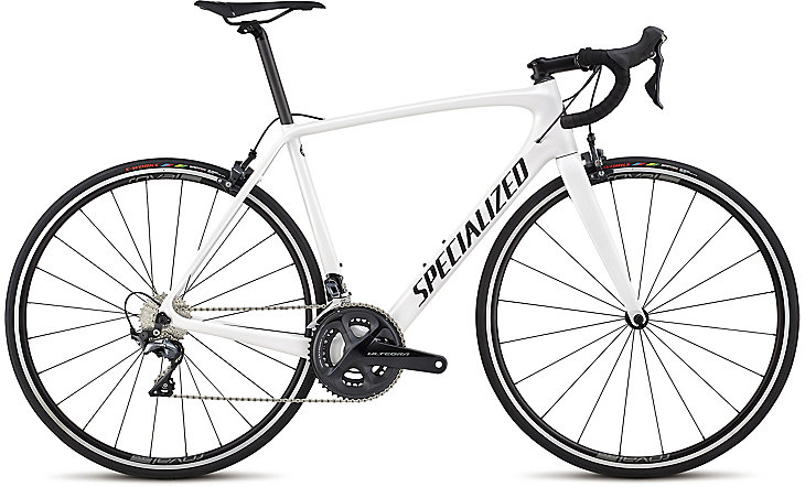 silniční kolo Specialized Tarmac Comp 2018 white silver/black/clean