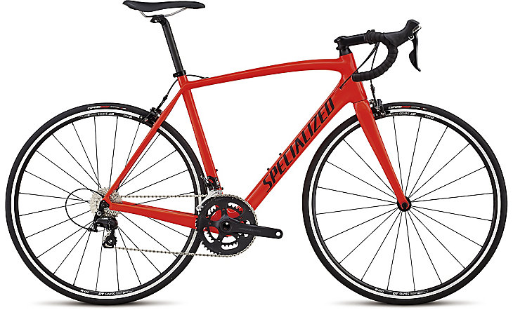 silniční kolo Specialized Tarmac Sport 2018 red/black/clean