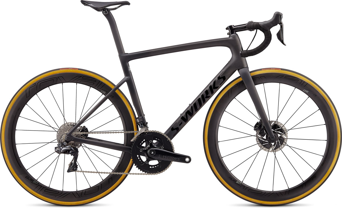 silniční kolo Specialized S-Works Tarmac SL6 Disc Di2 2020 satin carbon/black