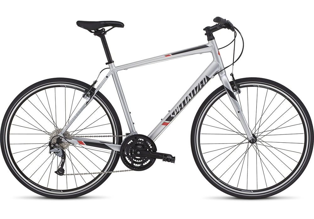 fitness kolo Specialized Sirrus Sport 2016 light silver/black/red