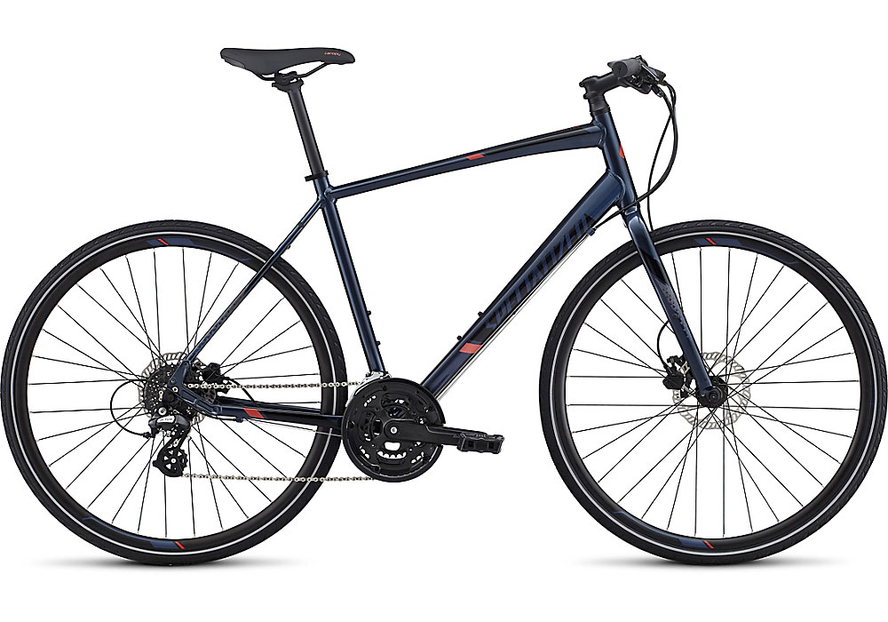 fitness kolo Specialized Sirrus Disc 2017 navy/black/nordic