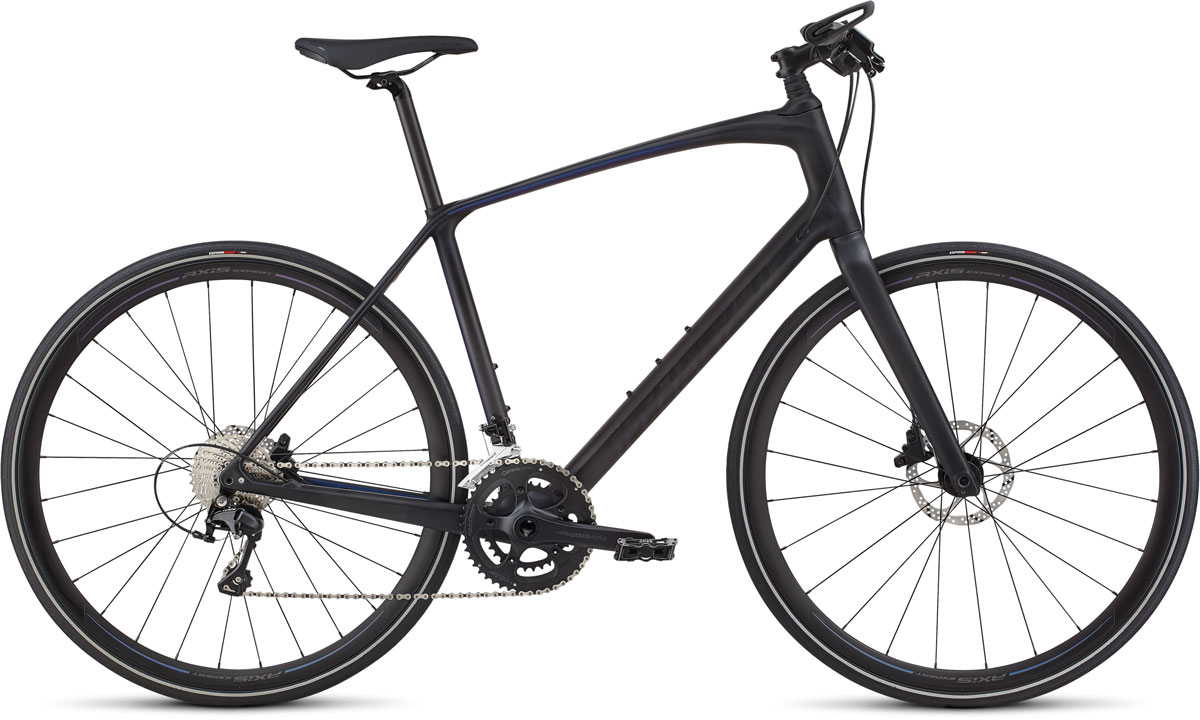 fitness kolo Specialized Sirrus Expert Carbon 2020 graphite/chameleon/purple/charcoal
