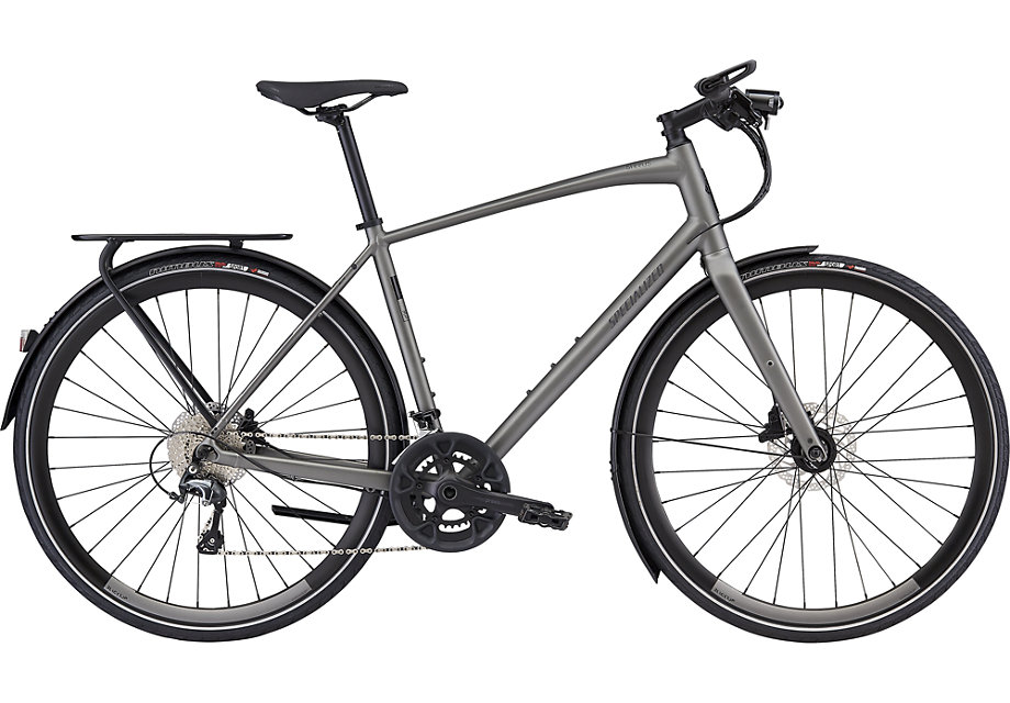 fitness kolo Specialized Sirrus Elite EQ 2020 satin gray/black