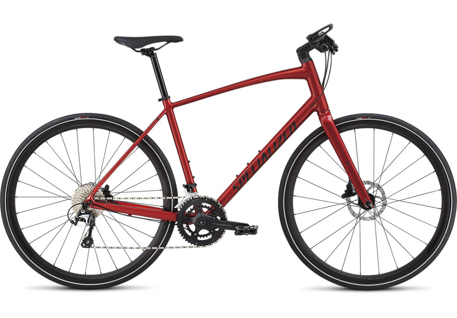 fitness kolo Specialized Sirrus Elite 2019 candy red/red