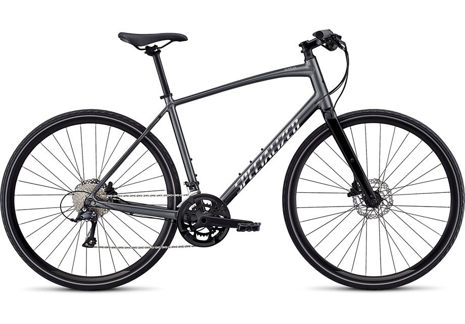 fitness kolo Specialized Sirrus Sport 2020 black chrome/black