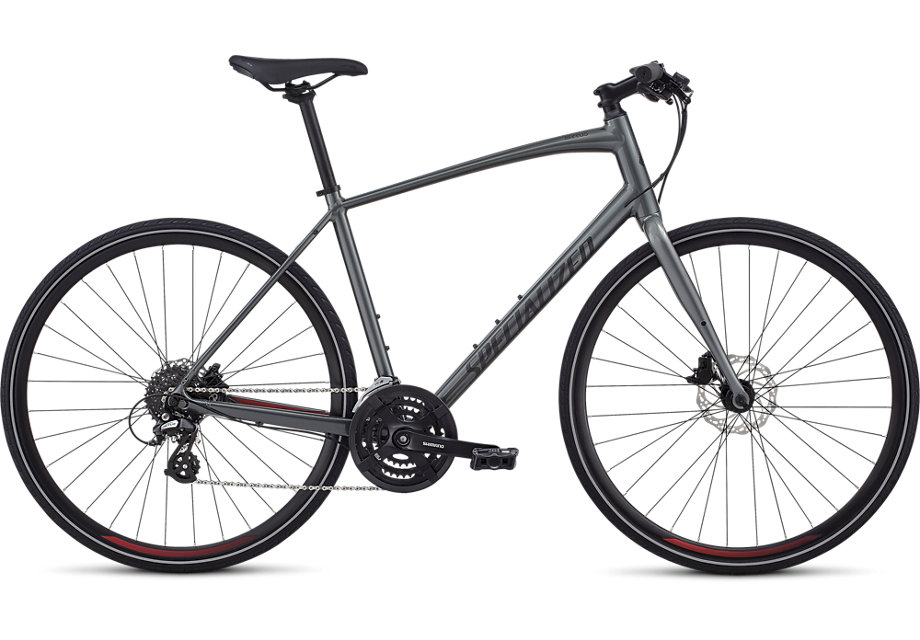 fitness kolo Specialized Sirrus Disc 2019 charcoal/red/black