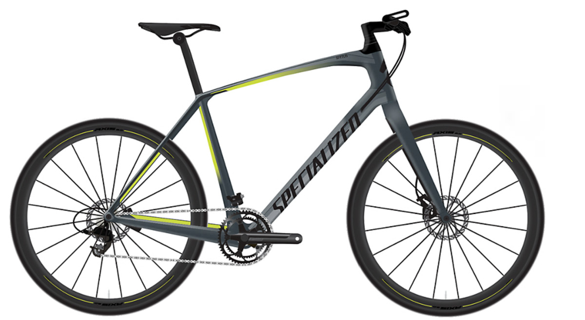 fitness kolo Specialized Sirrus Elite Carbon 2019 satin battleship/hyper