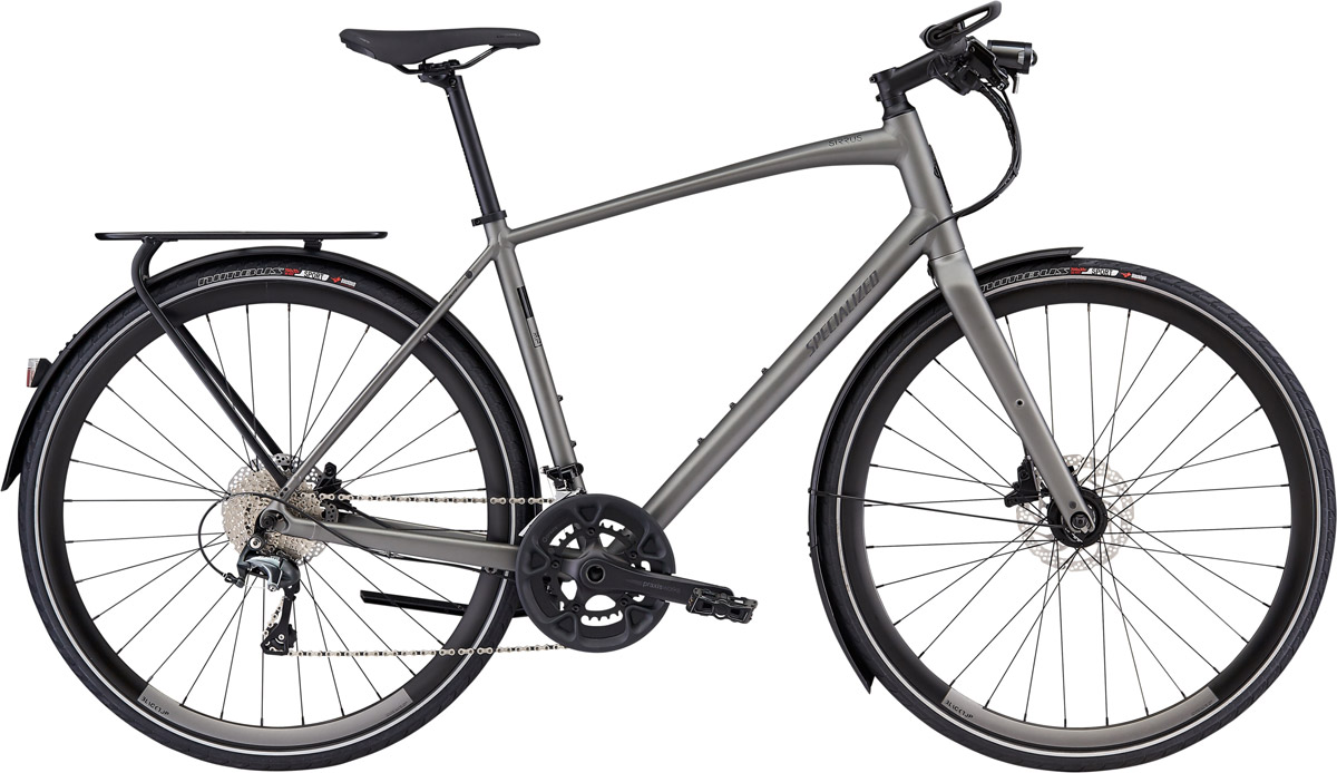 fitness kolo Specialized Sirrus Elite EQ 2020 Black Top LTD satin gray/black