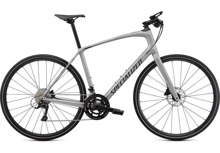 fitness kolo Specialized Sirrus 4.0 2020 silver/charcoal/black