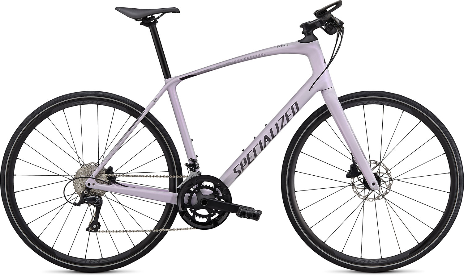 fitness kolo Specialized Sirrus 4.0 2020 gloss lilac/black
