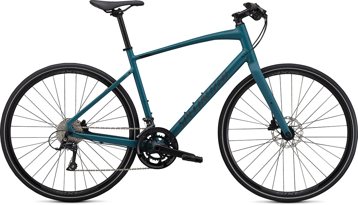 fitness kolo Specialized Sirrus 3.0 2020 satin turquoise/black