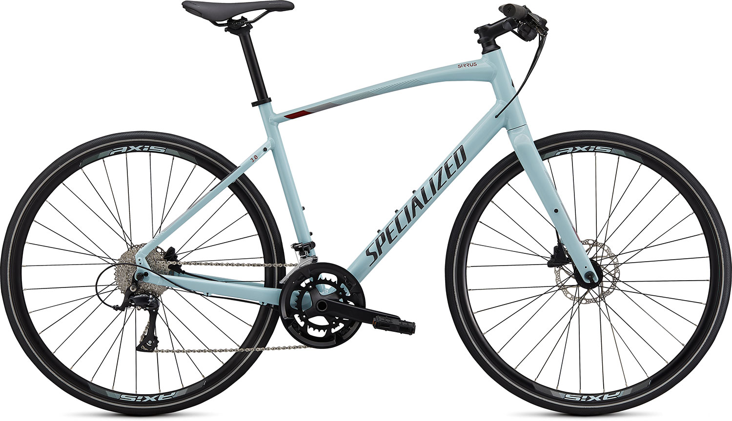 fitness kolo Specialized Sirrus 3.0 2020 gloss blue/crimson