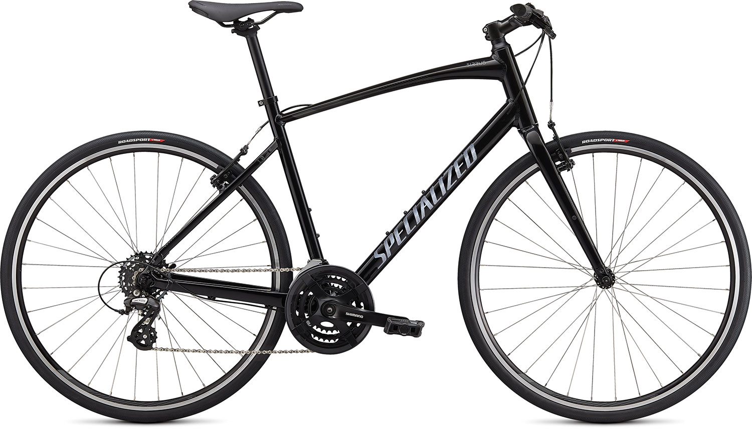 fitness kolo Specialized Sirrus 1.0 2021 gloss black/charcoal
