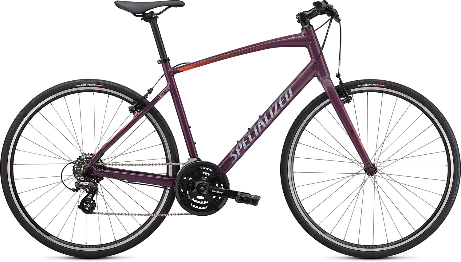 fitness kolo Specialized Sirrus 1.0 2021 gloss lilac/corall