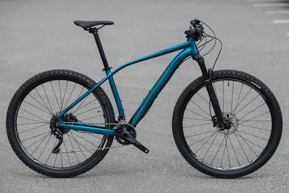 "horské kolo Specialized Rockhopper Pro 29"" 2017 gloss teal tint/black"
