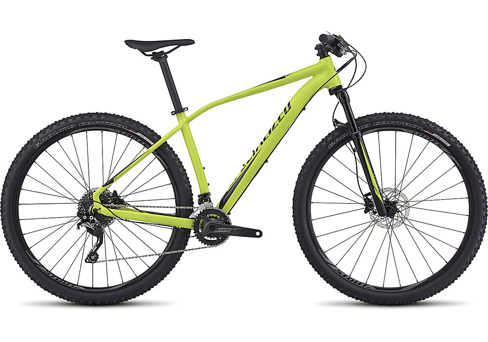 "horské kolo Specialized Rockhopper Expert 29"" 2017 gloss hyper green/black"