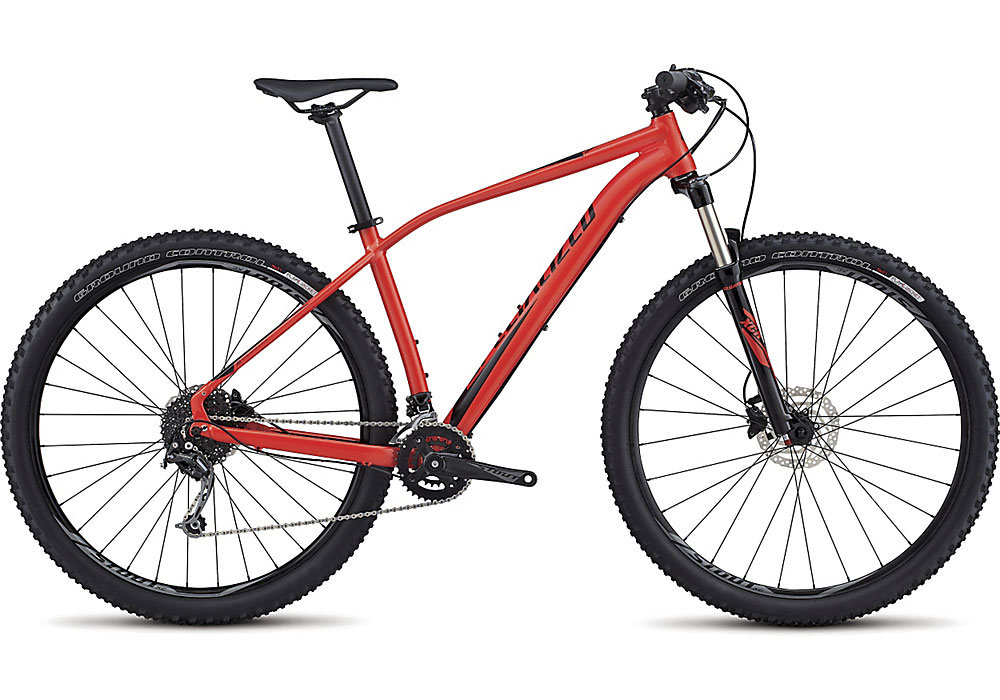 "horské kolo Specialized Rockhopper Comp 29"" 2017 gloss nordic red/black"
