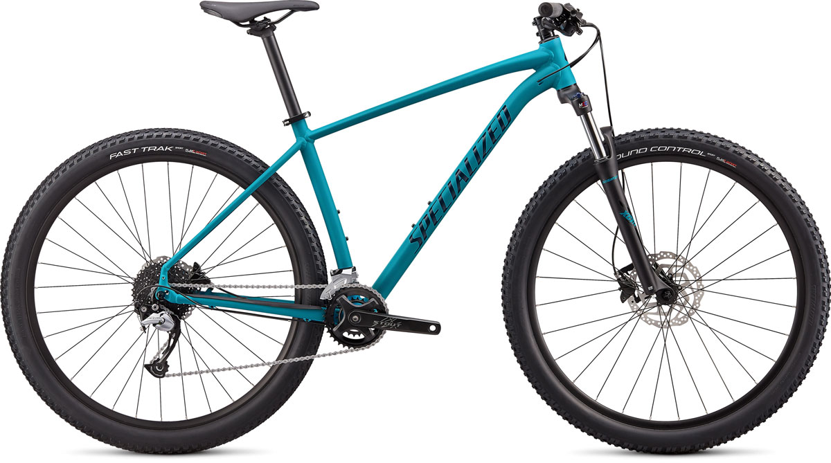 "horské kolo Specialized Rockhopper Comp 29"" 2x 2020 satin aqua/blue"