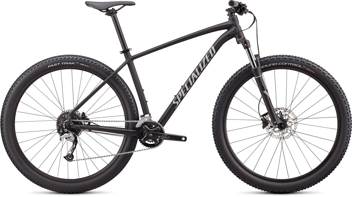 "horské kolo Specialized Rockhopper Comp 29"" 2x 2020 satin black/gray"