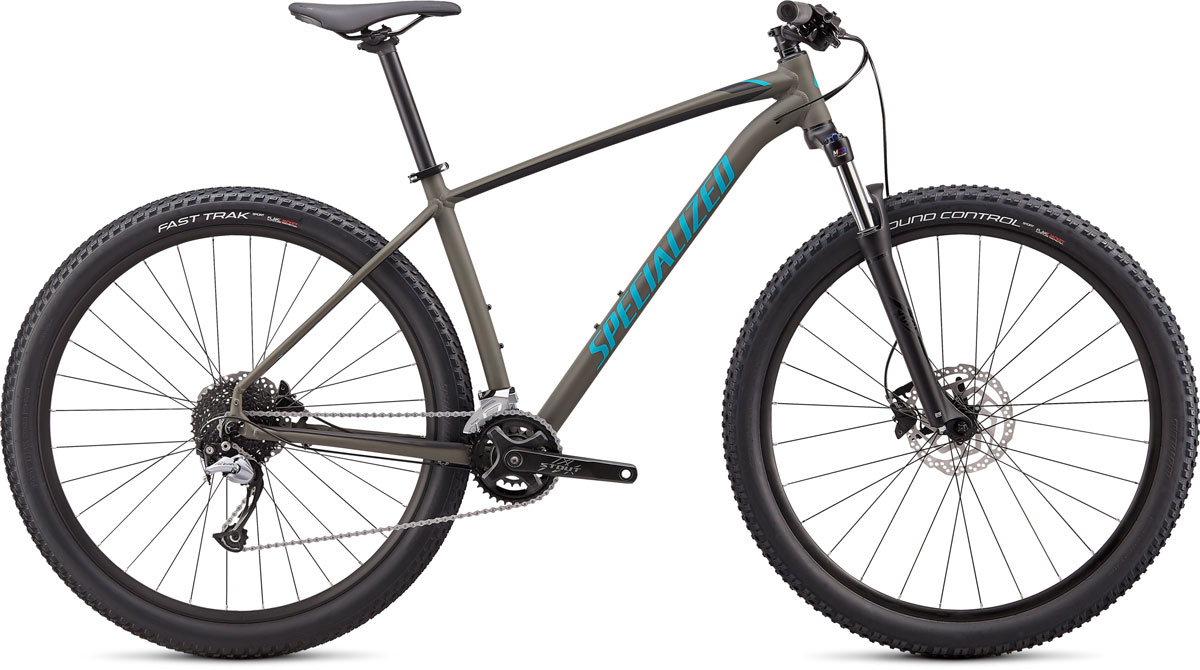 "horské kolo Specialized Rockhopper Comp 29"" 2x 2020 satin oak green/aqua"