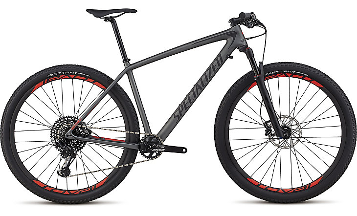 "horské kolo Specialized Epic HT Expert Carbon 29"" 2018 satin charcoal/black/red"