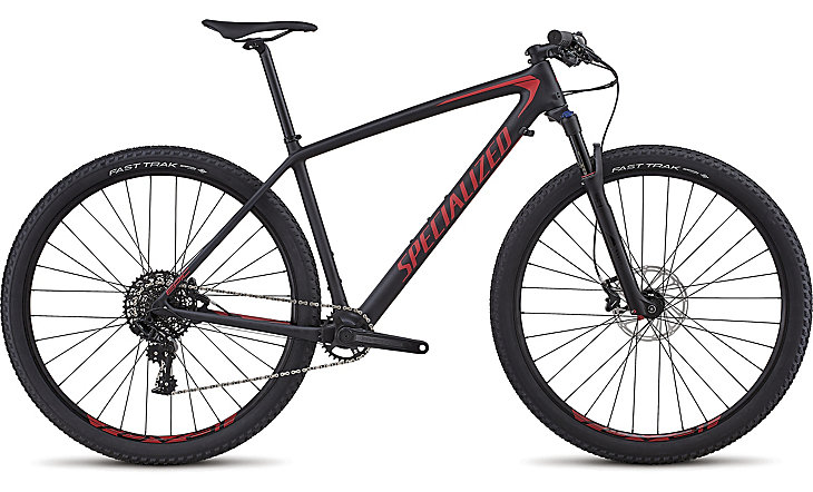 "horské kolo Specialized Epic HT Comp Carbon 29"" 2018 satin black/red"