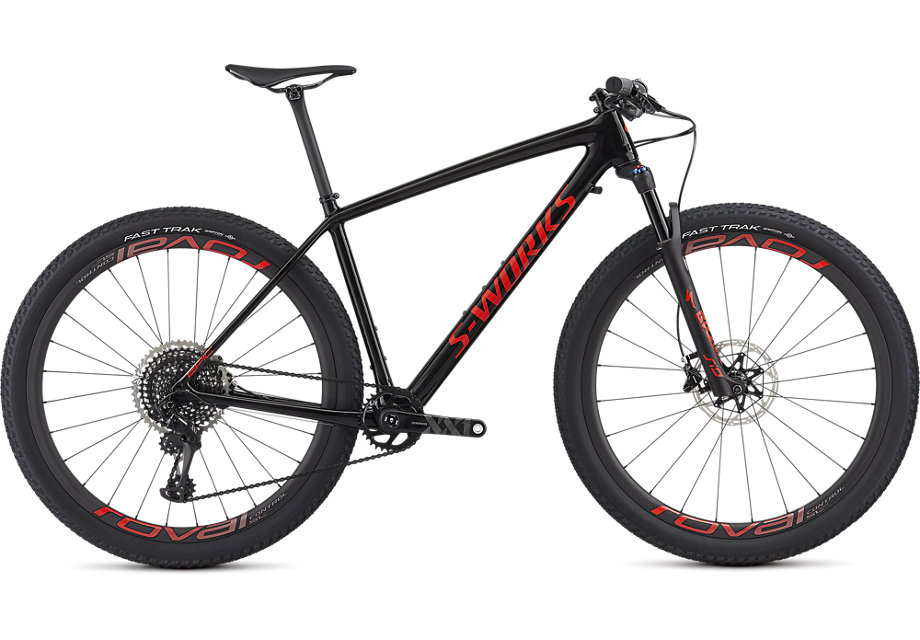 "horské kolo Specialized S-Works Epic HT Carbon SRAM 29"" 2019 carbon/red"
