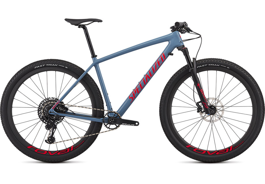 "horské kolo Specialized Epic HT Expert Carbon 29"" 2019 gloss gray/red"