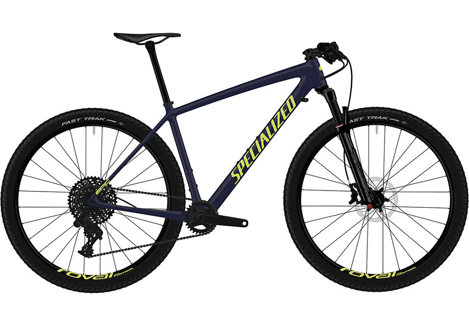 "horské kolo Specialized Epic HT Comp Carbon 29"" 2019 gloss carbon/ion"