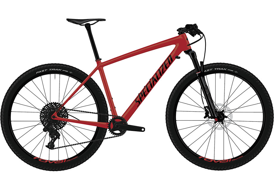 "horské kolo Specialized Epic HT Comp Carbon 29"" 2019 satin red/black"
