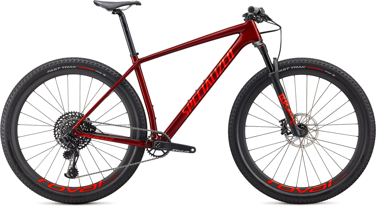 "horské kolo Specialized Epic HT Expert Carbon 29"" 2020 gloss crimson/red"
