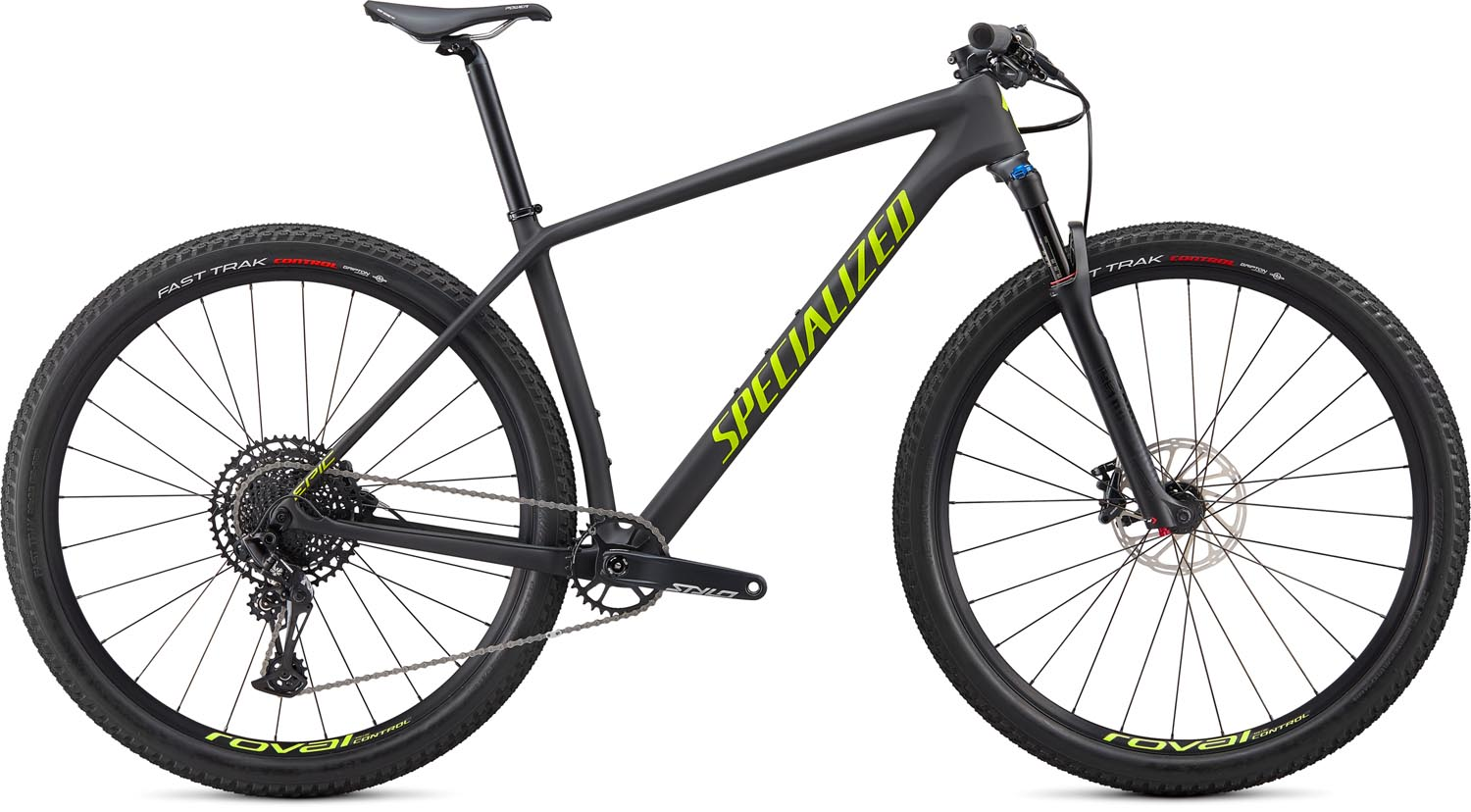 "horské kolo Specialized Epic HT Comp Carbon 29"" 2020 satin carbon/green"