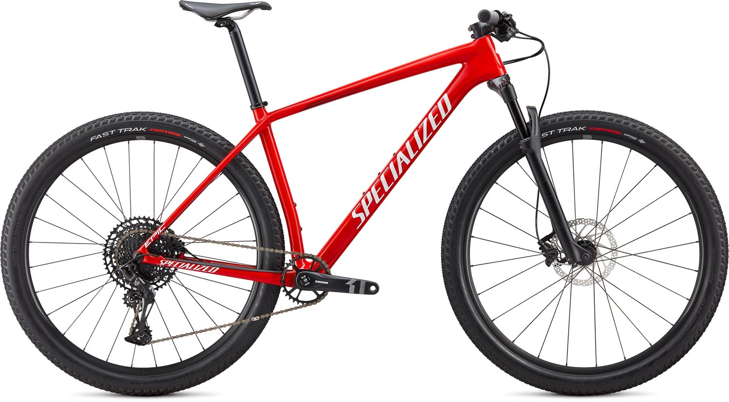 "horské kolo Specialized Epic HT Carbon 29"" 2020 gloss red/silver"