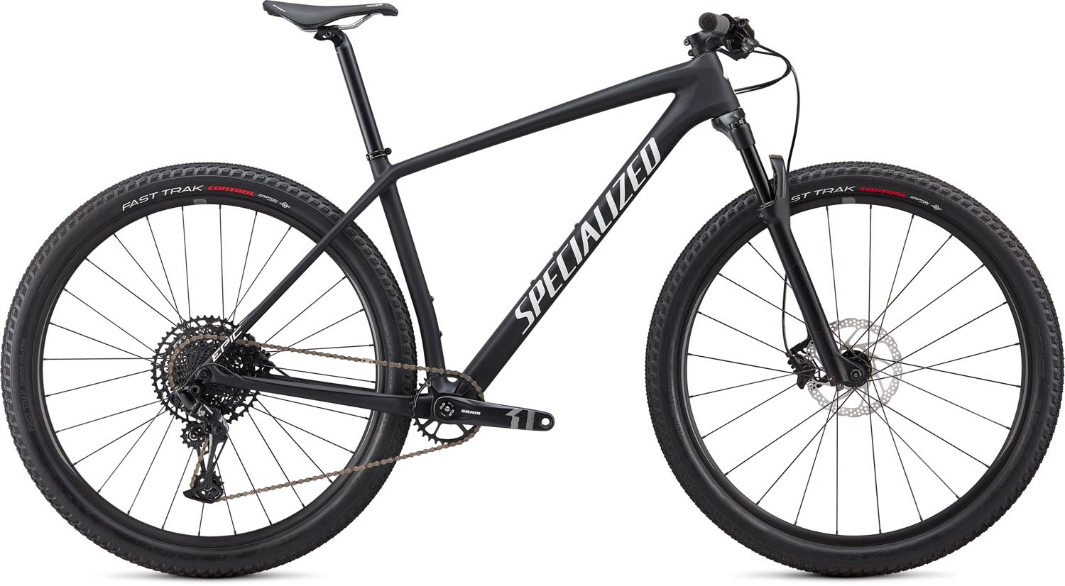 "horské kolo Specialized Epic HT Carbon 29"" 2020 satin black/white"
