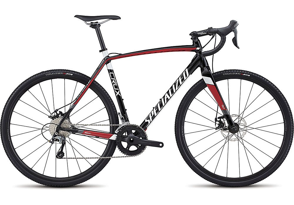 cyklokrosové kolo Specialized Crux E5 2018 black/red/white