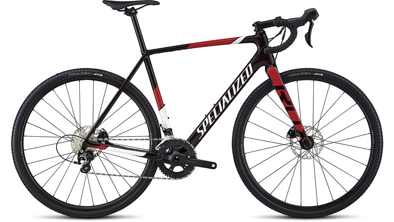 cyklokrosové kolo Specialized Crux Sport 2019 gloss red/white/red