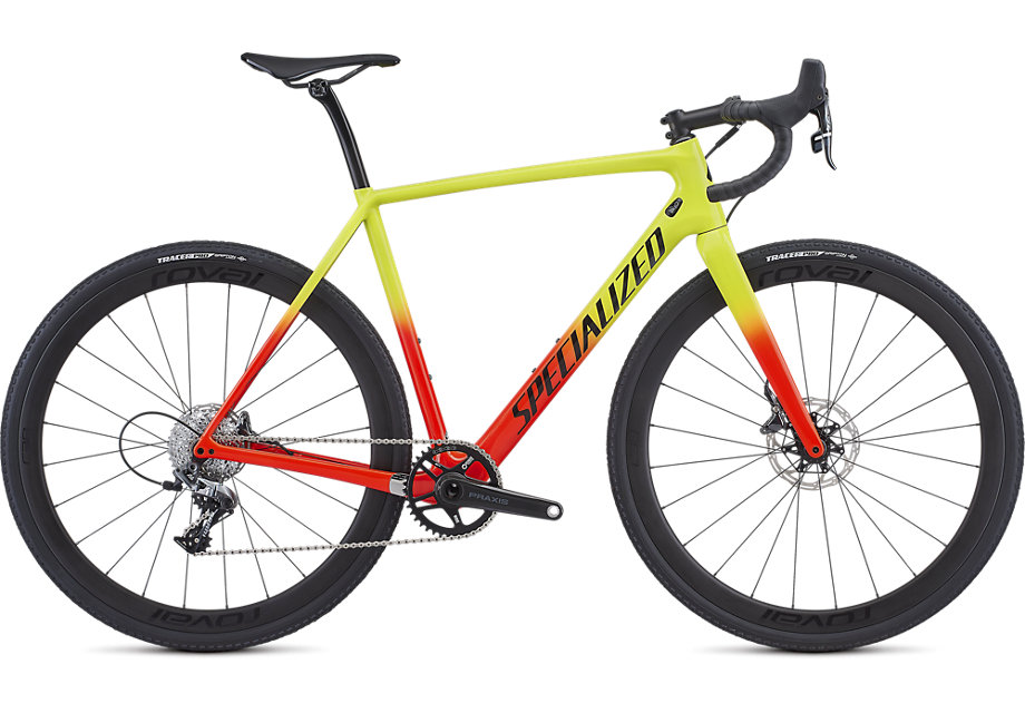 cyklokrosové kolo Specialized Crux Expert 2019 gloss team yellow/red/black