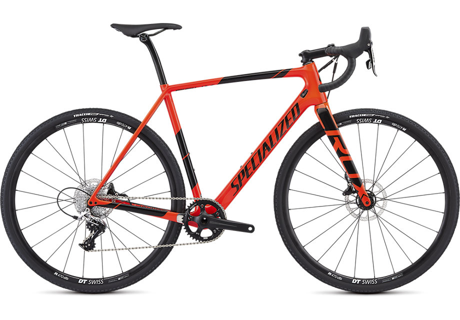 cyklokrosové kolo Specialized Crux Elite 2019 red/black