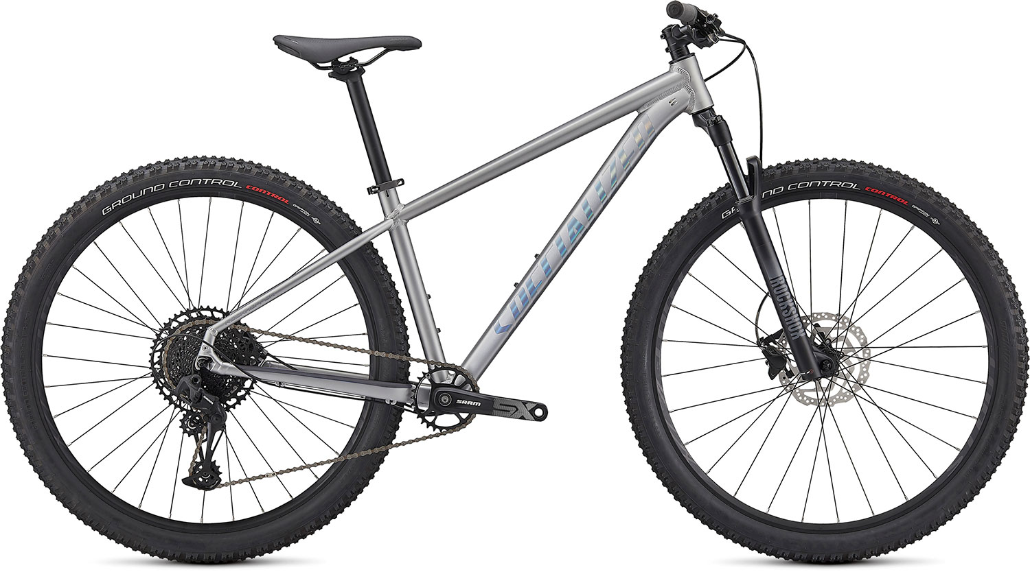 "horské kolo Specialized Rockhopper Expert 29"" 2021 satin silver dust/black"