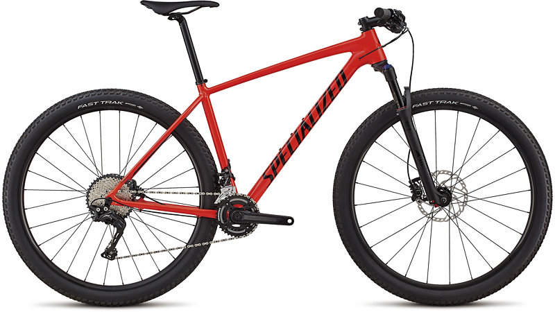 "horské kolo Specialized Chisel DSW Expert 2X 29"" 2018 gloss red/black"