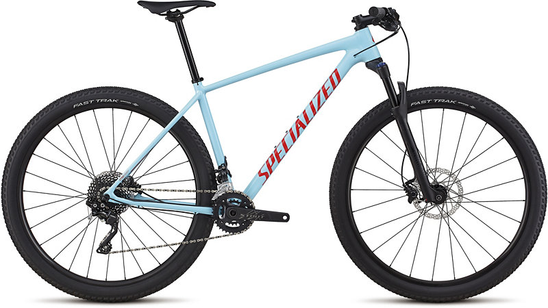 "horské kolo Specialized Chisel DSW Comp 29"" 2018 gloss light blue/red"