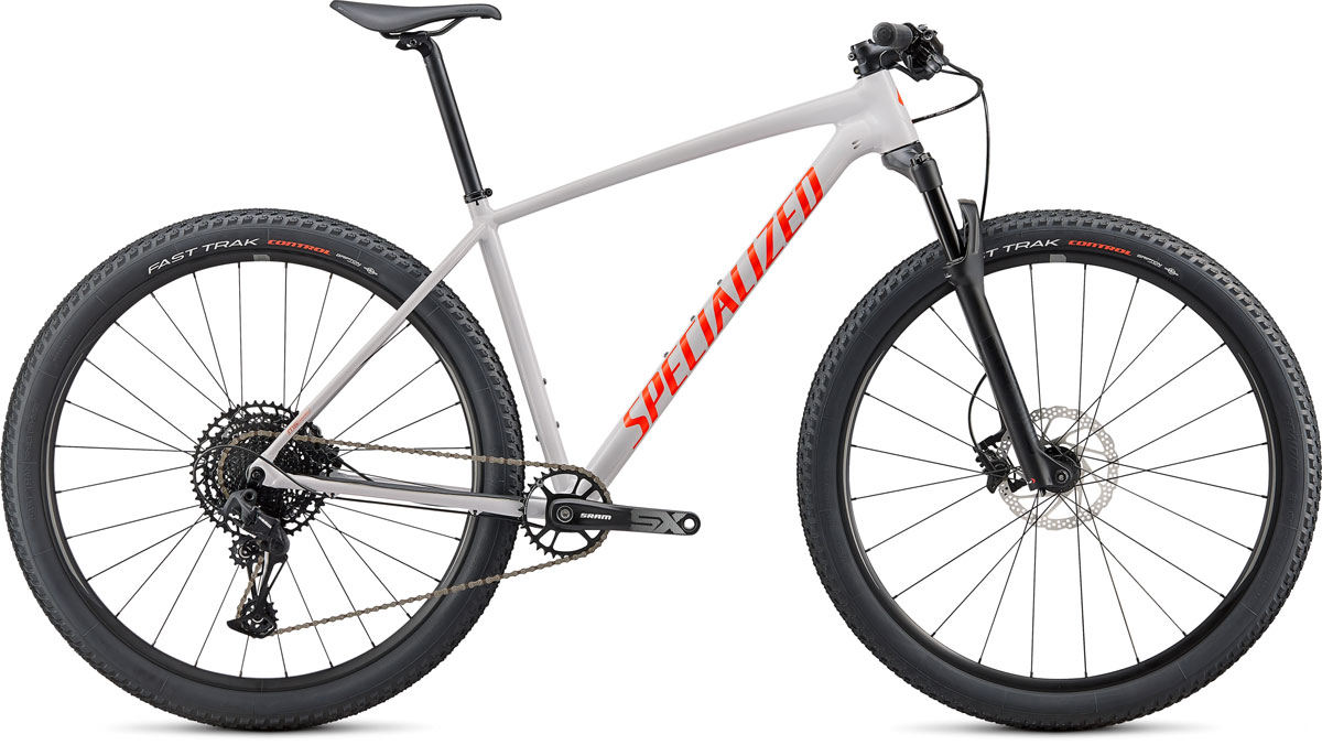 "horské kolo Specialized Chisel Comp 29"" 2020 gloss gray/red"