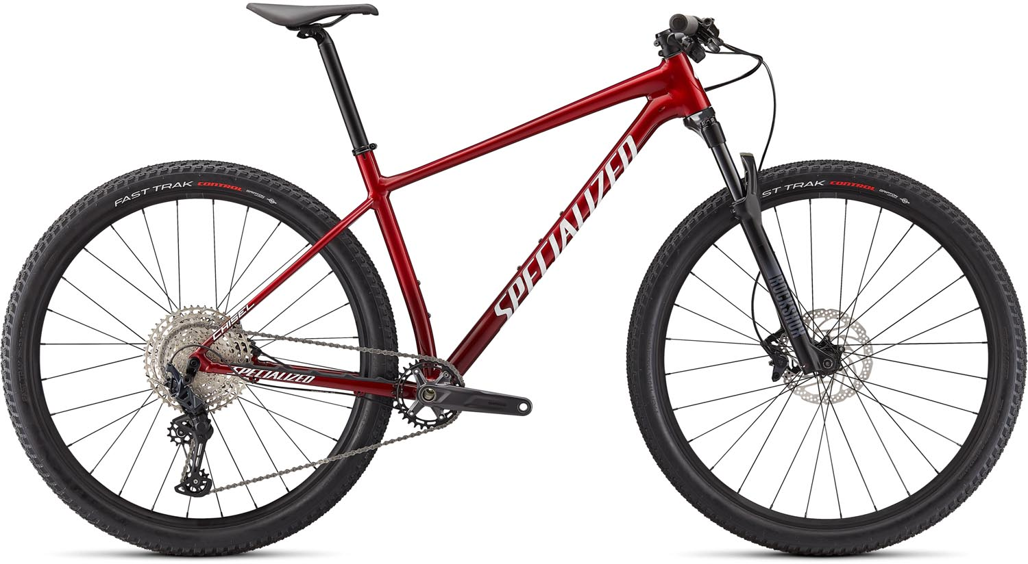 "horské kolo Specialized Chisel Comp 29"" 2021 red carbon/white"