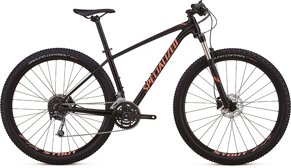 "dámské horské kolo Specialized Rockhopper Women's Expert 29"" 2018 glass satin black/lava/black"