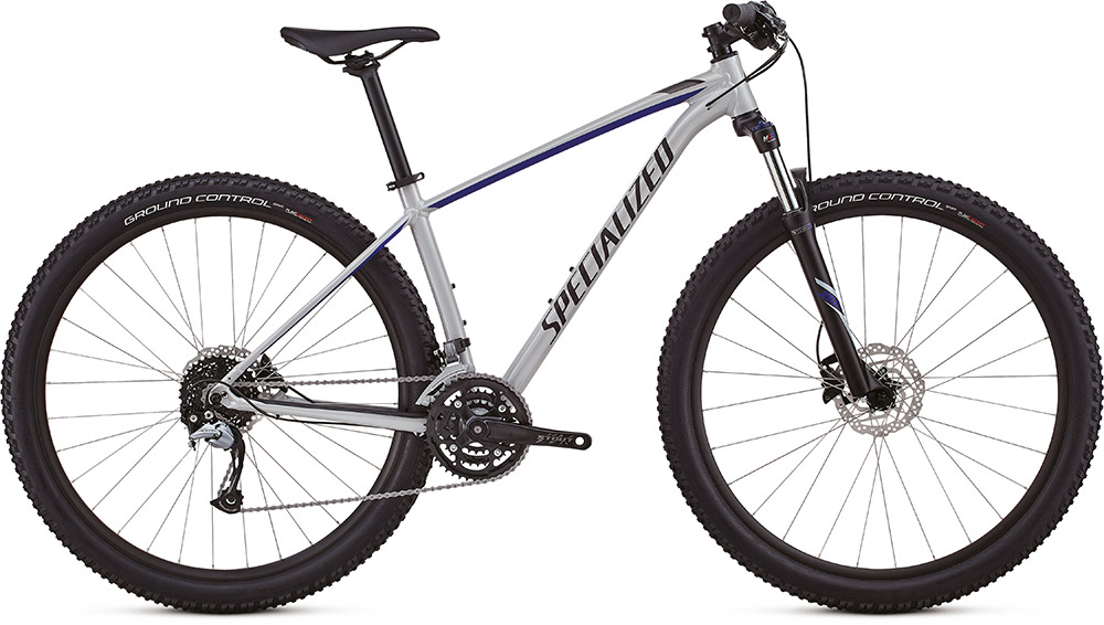 "dámské horské kolo Specialized Rockhopper Women's Comp 29"" 2018 gloss satin white/blue/black"