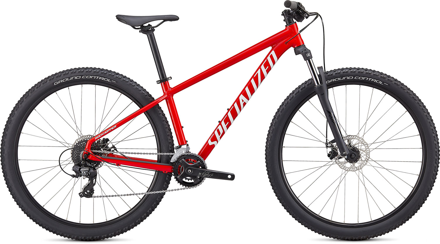 "horské kolo Specialized Rockhopper 26"" 2021 gloss red/white"