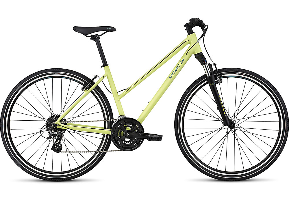 dámské trekingové kolo Specialized Ariel Step Through 2017 powder green/black/turquoise