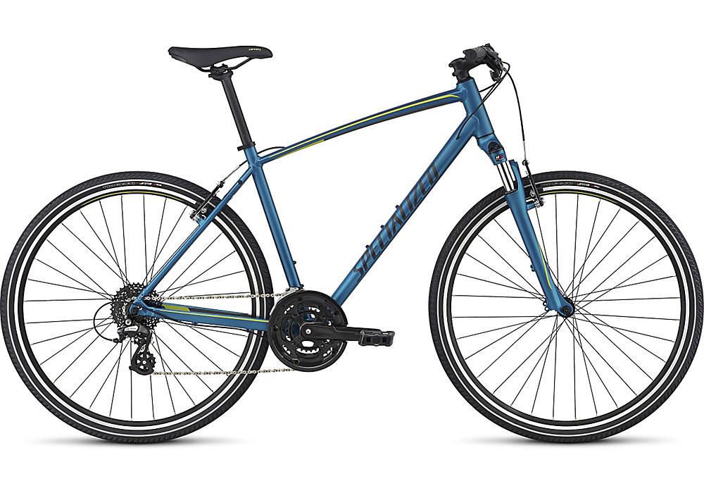 trekingové kolo Specialized Crosstrail 2017 blue/black/hyper green